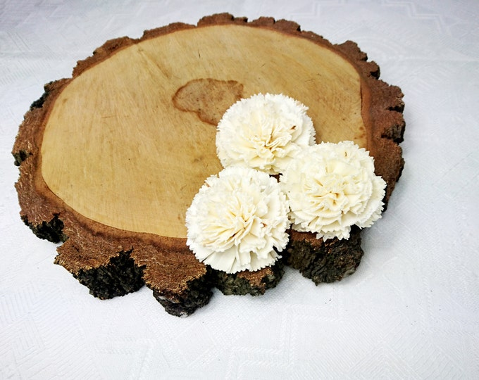 Sola Flowers Wedding diy bouquet floral supply natural rustic 12 pcs 8cm 3 5⁄32""