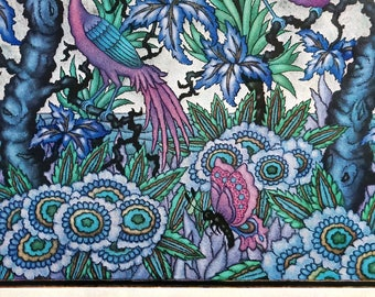 Vlinder gedicht etsy - Deco blauwe kamer ...