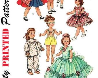 Doll Clothes Pattern, Toni Walker, Miss Revlon, Sweet Sue, Dollikin, Harriet Hubbard Ayer, PDF Pattern, Vintage Sewing, Vintage Pattern