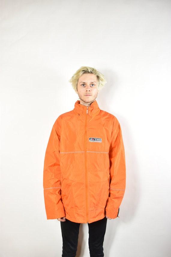 vintage orange tommy hilfiger windbreaker jacket by eoshopping. Black Bedroom Furniture Sets. Home Design Ideas