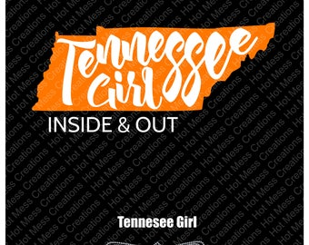 Tennessee Girl SVG Digital Download