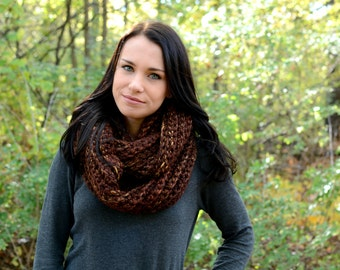The Elgon Infinity Scarf ∙ Chunky ∙ Sequoia
