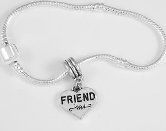 Friend Bracelet Best friends bracelet  My Friend BFF  Friendship Best Friends European Style