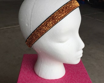Copper Glitter Headband