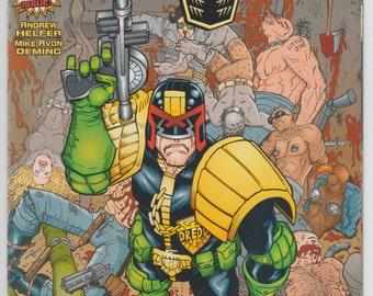 Judge Dredd #1 1994 DC Comics 21st Century Law Man First Issue Comic Book Vintage 90s