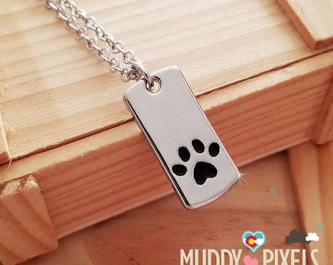 Cute animal pet mini dog tag filled with enamel  - so cute!
