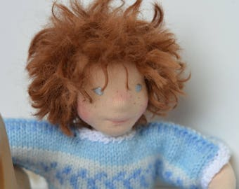 Matt, a 12.5 inches natural fiber doll