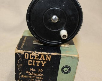 Ocean City No. 36 Wanita  Fly Reel in Original Box