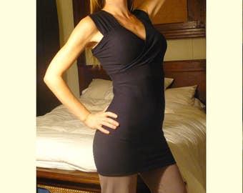 Organic Cotton Dress - Black