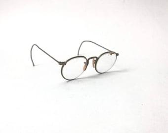 FUL VUE EYEGLASSES // 30s // 40s // American Optical // Ful Vue // FulVue // Round Eyeglasses // Circle Eyeglasses // Round Eyeglasses