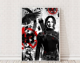 The Hunger Games Poster Art Film Poster Classic Movie Poster