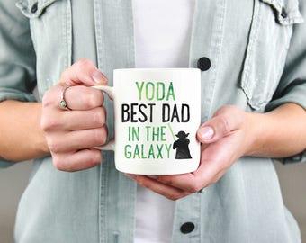 Funny Dad Mug, Yoda Best Dad, Star Wars Mug, Gift for Dad, Best Dad Mug, Funny Dad Gift, Yoda Best Dad Mug, Fathers Day Mug, Dad Xmas Mug
