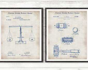 Patent Prints,Scales of Justice from 1885,Gavel Patent Art,Law Patent Poster,Law Student,Law School,Law Office Wall Art,Justice Prints,Judge