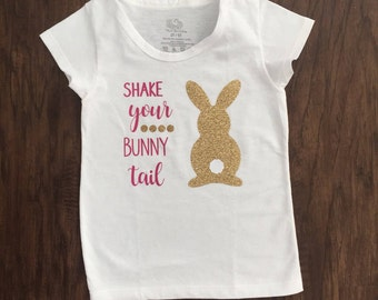 Shake Your Bunny Tail Toddlers T Shirt