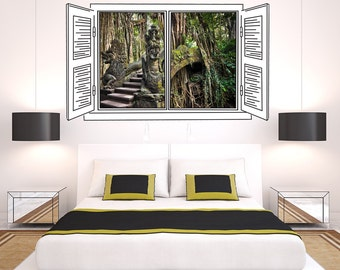 Bali Jungle - Window Art Print
