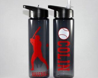 Baseball Personalized Water Bottle