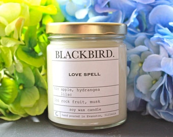 love spell | soy candle