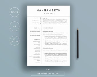 resume templateprofessional creative cv template instant digital download cover letter references
