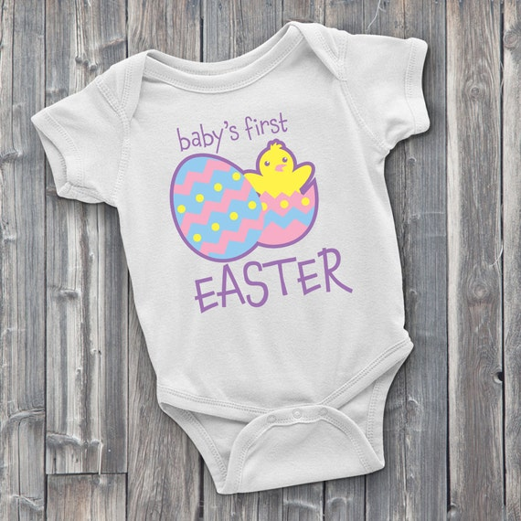 Baby's First Easter 100% Soft Cotton ONESIE