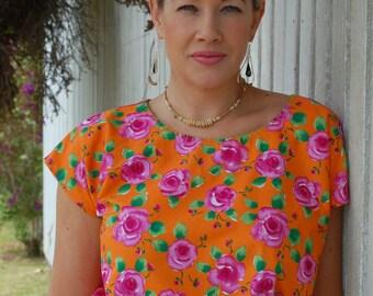 Hand Made Huipils (blouses) Inspired by Frida Kahlo