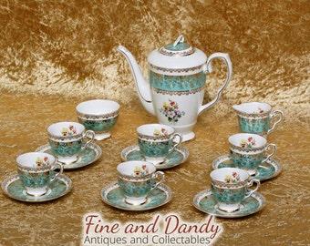 Royal Stafford Bone China Coffee service
