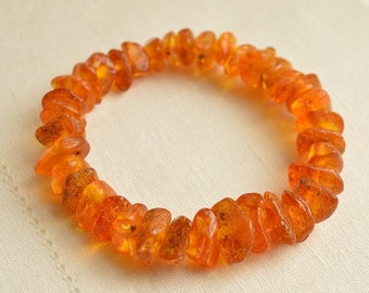 Vintage Genuine Baltic AMBER Bracelet 18 grams, Amber Jewelry