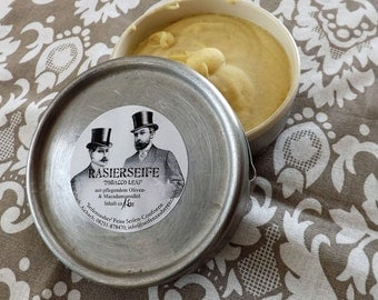 Shaving SOAP, exclusively-