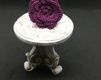Crochet Ring, Feeling Rosy Ring