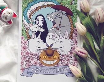 Studio Ghibli Print