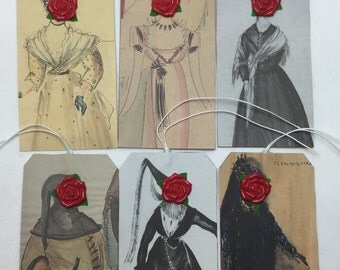 Lady Rose Gift Tags