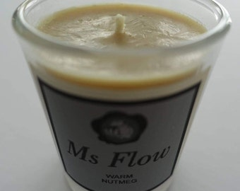Ms Flow Warm Nutmeg Candle