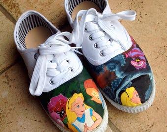 Alice in wonderlands shoes