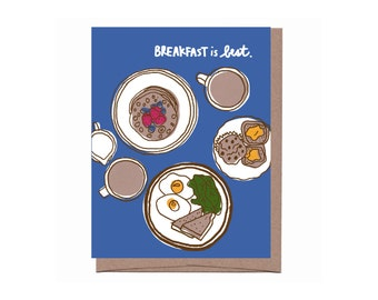 Breakfast is Best Card