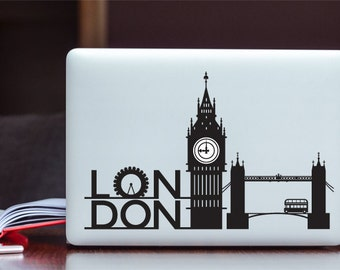 London MacBook Sticker