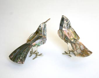 Two Abalone Birds