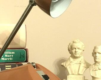 vintage industrial desk lamp adjustable
