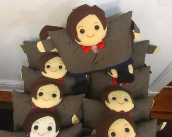 Doctor Who Eleventh Doctor Large Pillow - Matt Smith 11th Doctor plushie