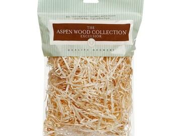 Wood Excelsior, Aspen Wood Shred, Primitive Bowl Fillers