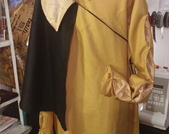 READY FOR SHIPPING ! Tunic + short cloak, Renaissance, Reenactment Sca Larp, medieval gentlemen