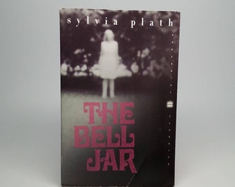 The Bell Jar by Sylvia Plath Vintage Paperback Book