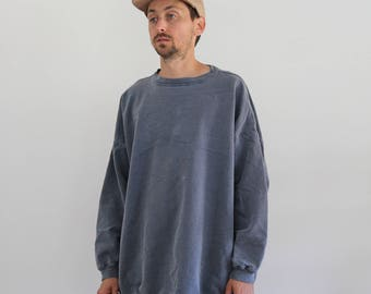 90s Baggy Faded Oversized Sweater XL