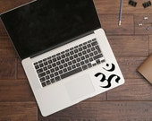 Om Trackpad Stickers Macbook Decal Apple Macbook Laptop Stickers Trackpad Decals Laptop Decals