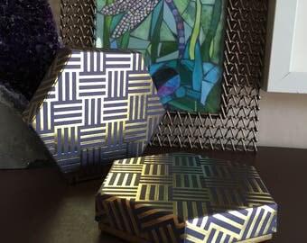 Hexagon Handmade Gift Box, Hexagon Box