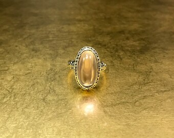 Edwardian Engagement   Antique Alternative Ring   1900s Amethyst Engagement   Violet Engagement Ring   Lavender Engagement Ring   Size 6.5