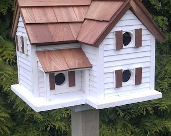 Cottage Birdhouse Amish Handmade