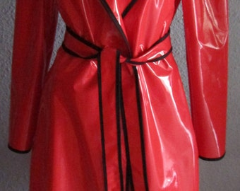 PVC RAINCOAT Full Length (various colours)
