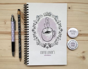 Coffee Lover Journal Set