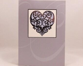 Congratulation Wedding Card and Envelope