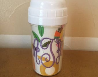Monogram Zoo Sippy Cup