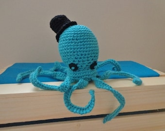 Plushie Octopus - Octopus with Top Hat